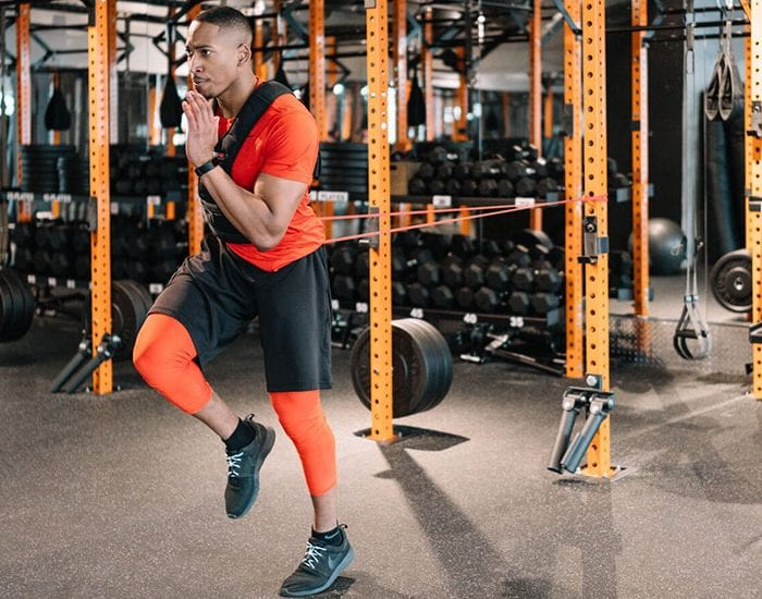TJ Strength Band and Weighted Vest